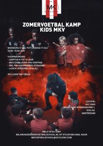 MK Zomer Voetbalkamp @ AFC DWS